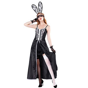 lace playboy bunny outfit